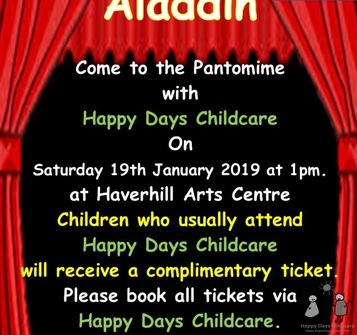 It's Pantomime time – Oh no it isn't!